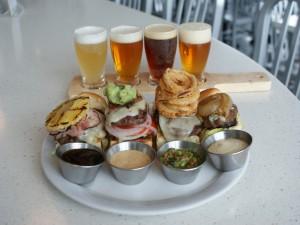 Degustación de hamburguesas y cervezas
