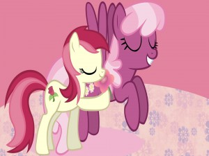 Cheerilee y Rose (My Little Pony)