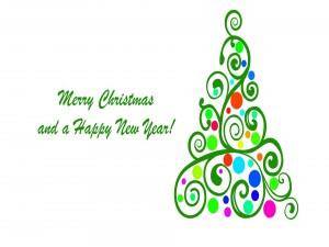 ¡Feliz Navidad y un Feliz Año Nuevo!