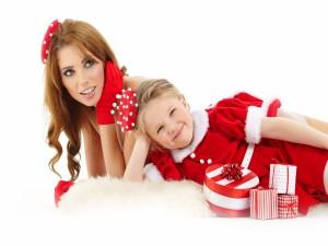 Momentos felices en Navidad