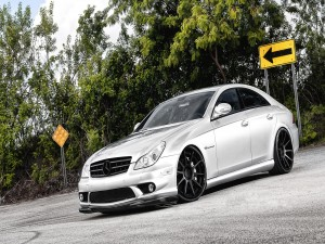 Postal: Mercedes ADV1 Silver CLS 55