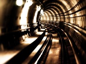 Túnel y vías