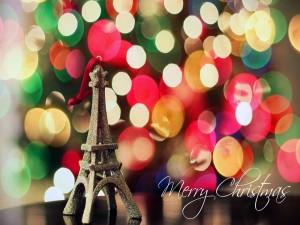 Postal: Feliz Navidad desde París
