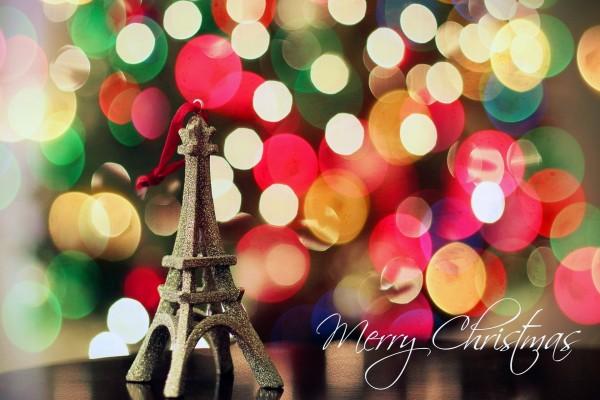 Feliz Navidad desde París