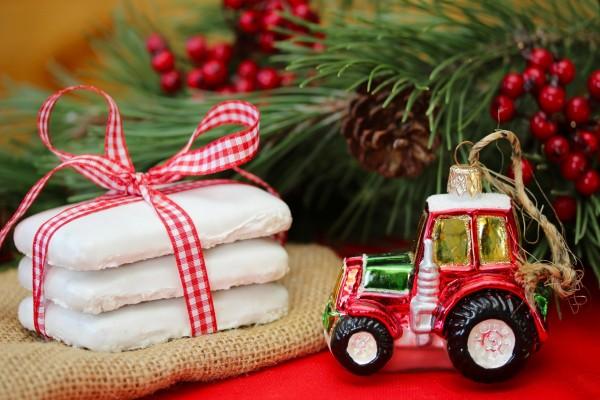 Adorno y dulces navideños