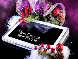 Postal: ¡Feliz Navidad y un Feliz Año Nuevo!