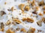 Helado con trozos de galleta