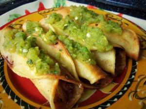 Postal: Tacos picantes