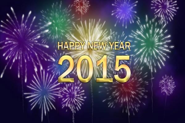 Fuegos artificiales para el ¡Año Nuevo 2015!