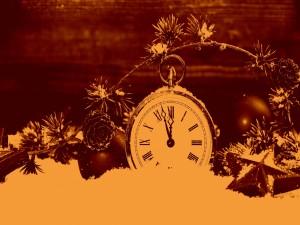 Postal: A punto de comenzar el ¡Año Nuevo 2015!