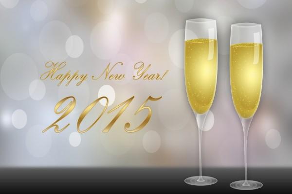 ¡Brindis y Feliz Año 2015!