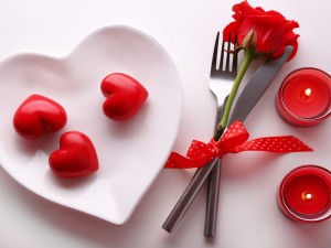 Postal: Momento romántico