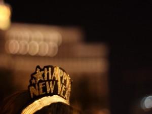 Corona para festejar el año nuevo 2015