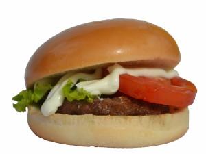 Postal: Hamburguesa con mayonesa