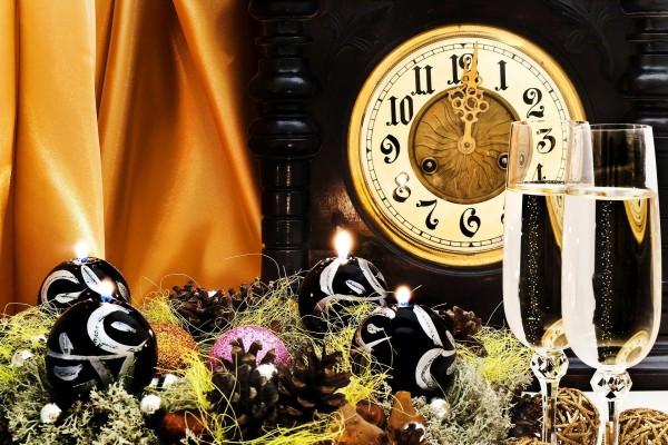 Primer minuto del Año Nuevo
