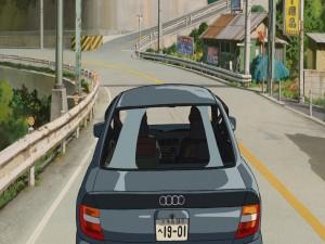 "Postal: Escena de la película ""El viaje de Chihiro"""