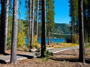 La belleza del lago Donner