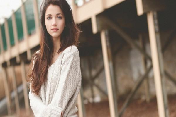 Una guapa modelo