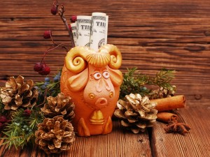 Postal: 2015 año de la cabra de madera en China