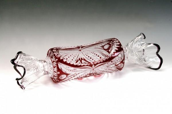 Elegante caramelo de vidrio
