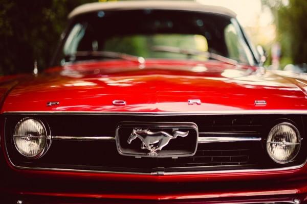 Frontal de un Ford