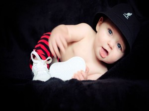 Un guapo bebé