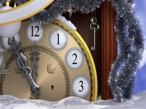 Postal: Cinco minutos para que comience el Nuevo Año 2015