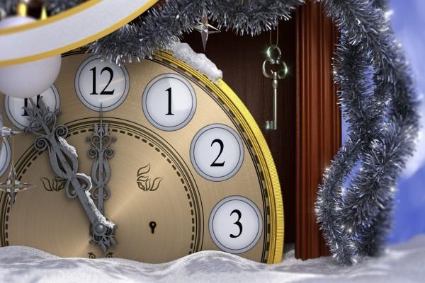 Cinco minutos para que comience el Nuevo Año 2015