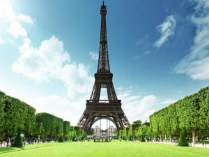 Postal: La Torre Eiffel