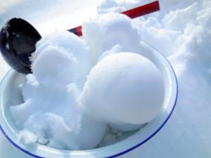 Postal: Bolas de nieve
