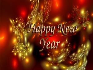 Postal: Mensaje de Año Nuevo