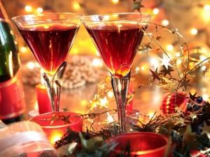 Postal: Festejando el Año Nuevo 2015