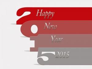 Postal: Felicitación del Nuevo Año 2015