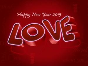Felicidad y amor para el Nuevo Año 2015