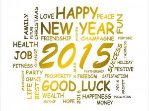 Postal: Propósitos para el Año Nuevo 2015