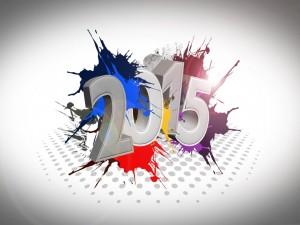 Postal: Imagen del Nuevo Año 2015
