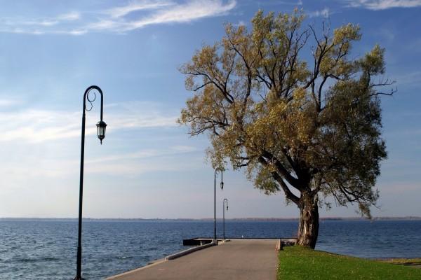 Bonito paseo junto al mar