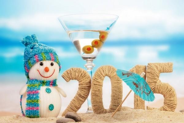 Cóctel para celebrar el Nuevo Año 2015