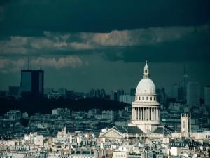 Nubes sobre París