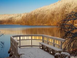 Postal: Terraza nevada