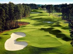 Postal: Campo de golf
