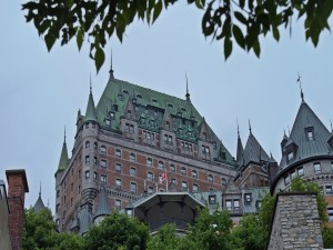 Postal: Chateau Frontenac (Quebec, Canadá)