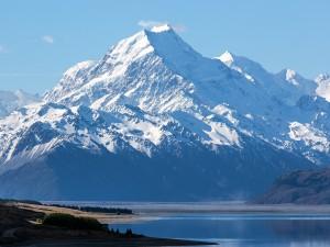Postal: Monte Cook, la montaña más alta de Nueva Zelanda