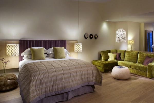 Diseño de un dormitorio moderno