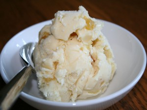Helado de leche de coco