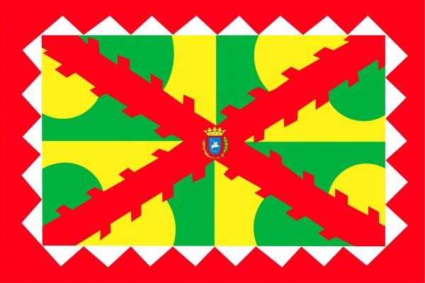 Bandera de Huesca capital