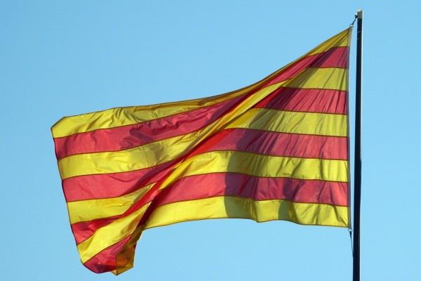 Bandera de Aragón y Cataluña