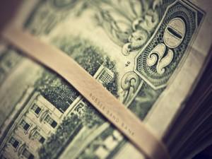 Postal: Fajo de billetes