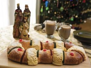 Postal: Roscón o rosca de Reyes