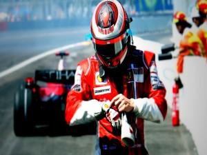 Kimi Räikkönen en la Scuderia Ferrari